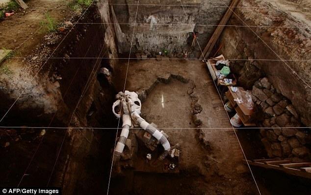 墨西哥公路下现猛犸象化石 距今已有一万年