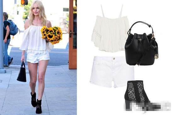 夏季穿衣搭配就要白白白! 3造型让你摆脱炎热感