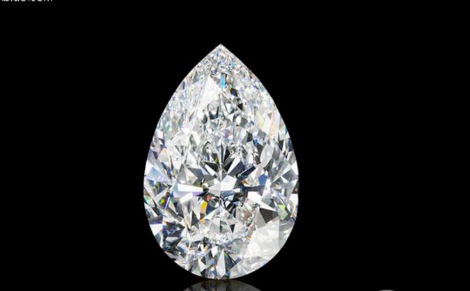 格拉芙品牌史上最大D色无瑕梨形钻石精彩呈献