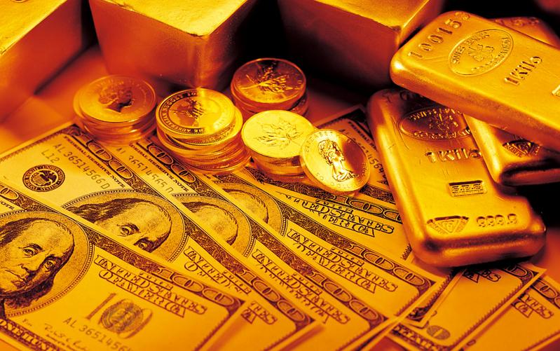 黄金价格快速向上走 日内金价关注最高点