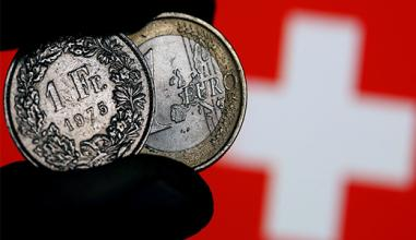 英国脱欧后遗症发作 瑞士央行大量买入外汇