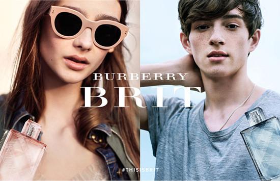 巴宝莉推出Burberry Brit最新香水系列广告大片