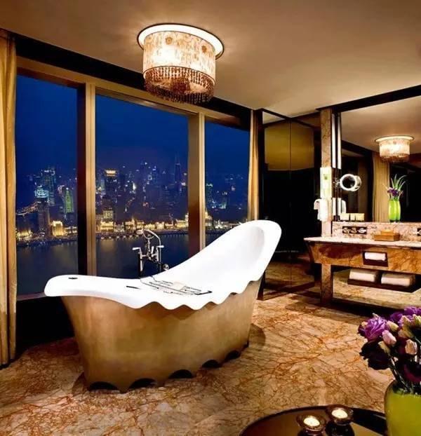 真正的浴缸 江浙沪超惊艳的酒店浴缸