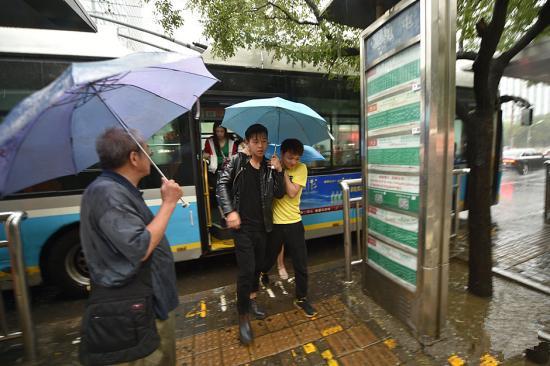 大地保险面对北京暴雨橙色预警启动紧急预案