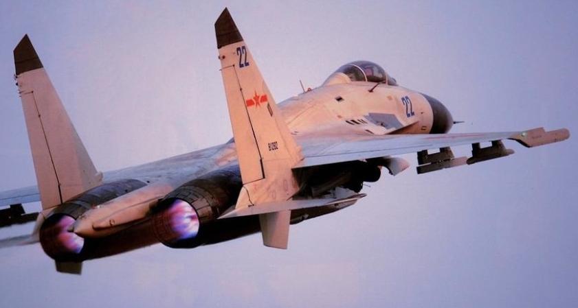 解放军海南岛部署三个歼11团 演练检验技战术水平