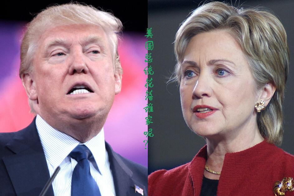 真人秀一般的美国大选:希拉里 特朗普谁希望大?