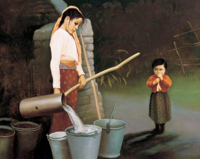 杨红太油画作品欣赏