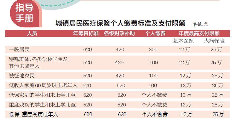 2017年度洛阳城镇居民医保缴费通知