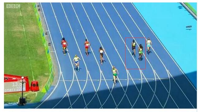 短跑名将跑错赛道 违反规则官方竟判成绩有效