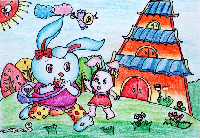 儿童画特点_如何指导创意儿童画