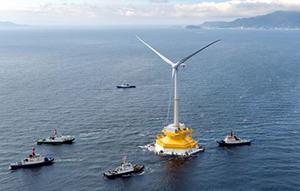 日本欲成为浮体式海上风力发电全球领先者 却惨遭劲敌