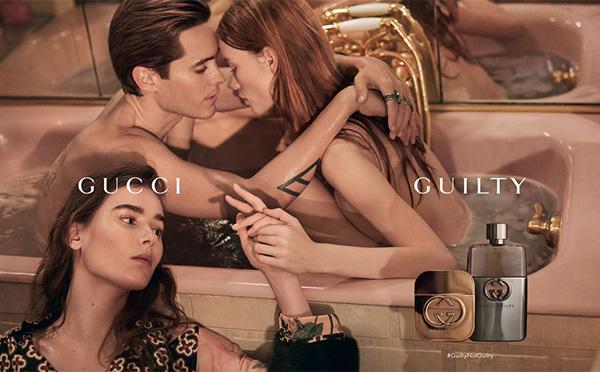 Gucci(古奇)释出最新2016年度罪爱香水广告大片