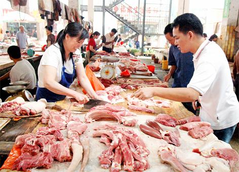 郑州市猪肉价格持续稳定 鸡蛋价格略有上涨