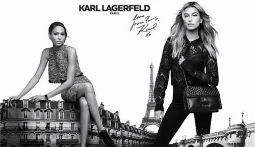 Karl Lagerfeld释出旗下Paris系列2016秋冬广告大片