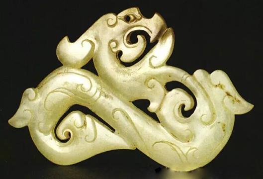 天长汉墓出土龙形白玉佩收藏鉴赏