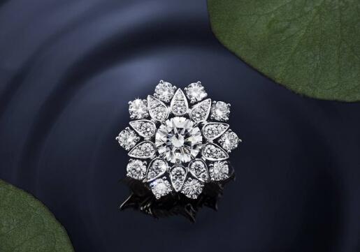 撷取大自然的芳香 海瑞温斯顿全新Lotus Cluster系列珠宝
