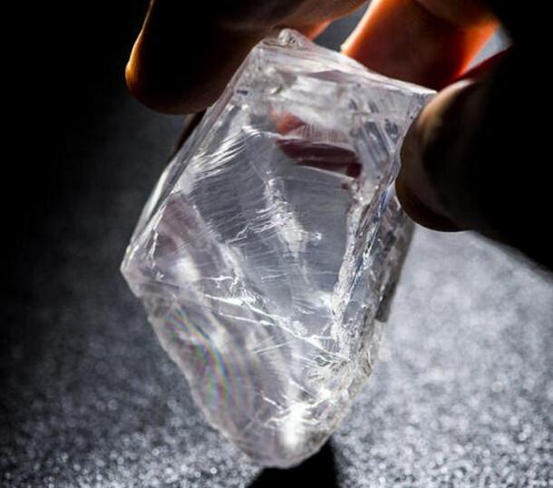 阿联酋公司天价收购重达813克拉钻石原石