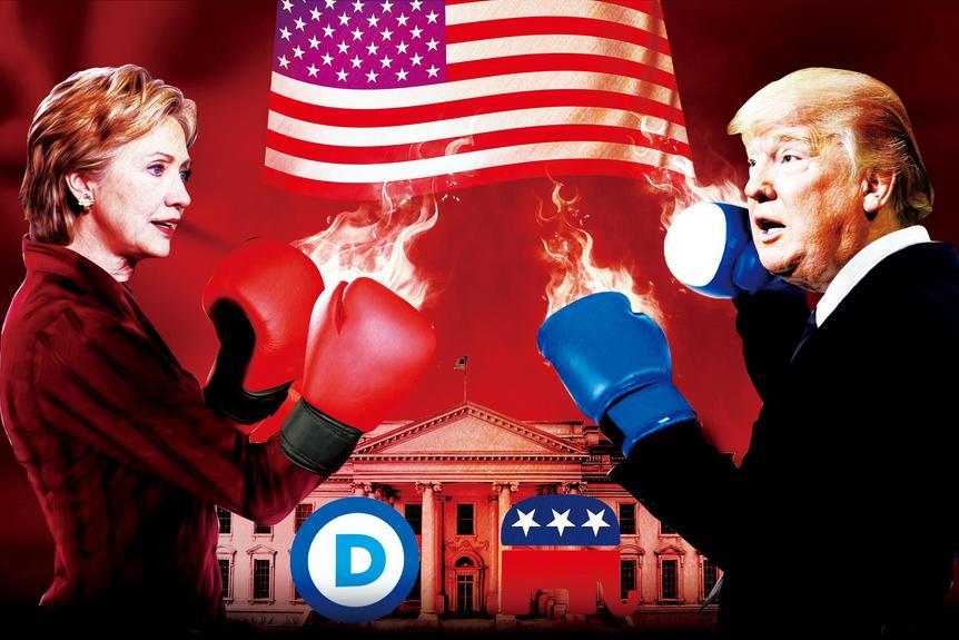 美国大选又拿中国说事:希拉里 特朗普意图令人震惊
