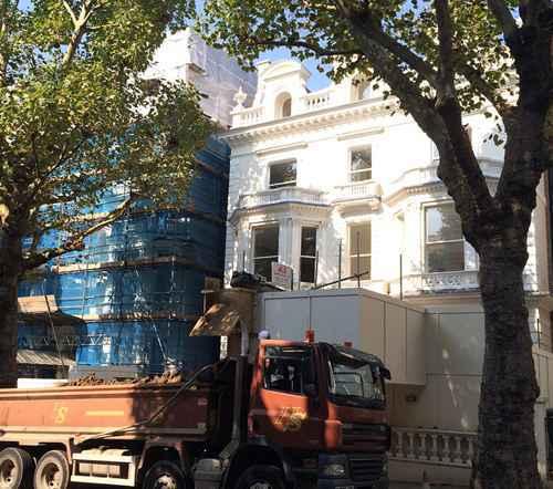 贝克汉姆伦敦豪宅装修 噪音严重扰民