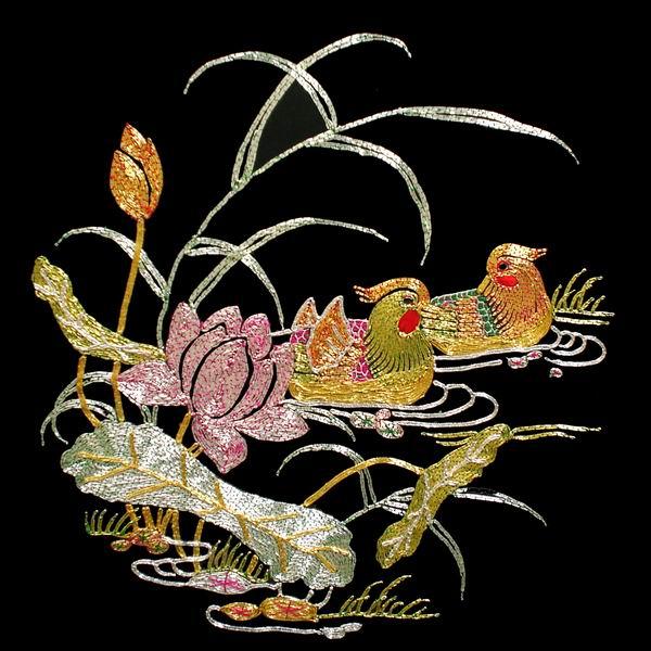 中国刺绣_刺绣针法_刺绣绣法_老刺绣该怎么保养?