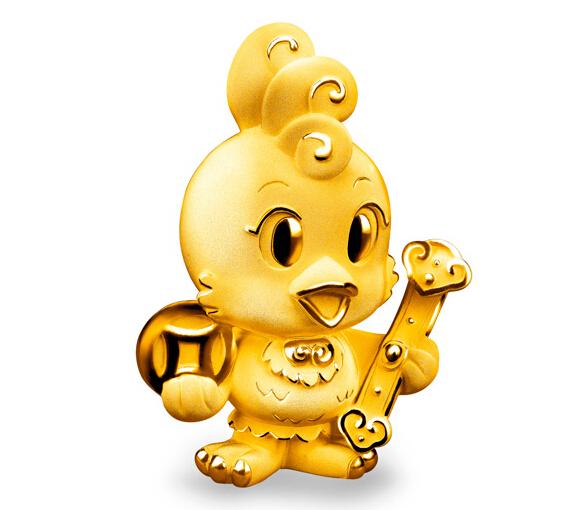 六福珠宝特推出「金鸡报喜」系列 为你送来诚挚新年祝福