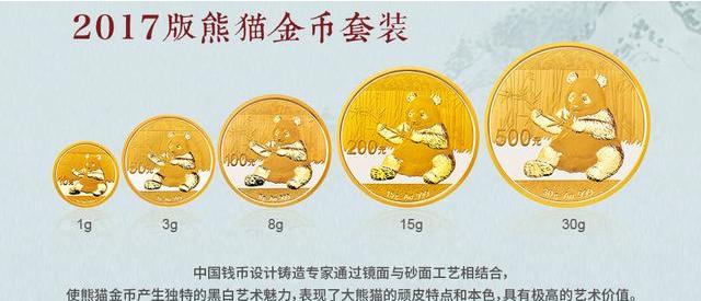 中国熊猫金币