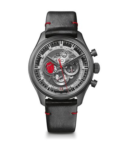 真力时推出全新El Primero旗舰系列镂空特别版腕表