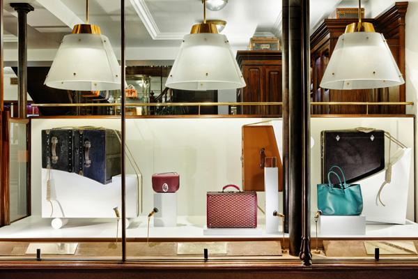 探索秋季橱窗风貌 Goyard推出全新Heritage系列箱包
