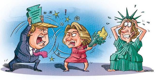 如何正确的打开2016美国大选?