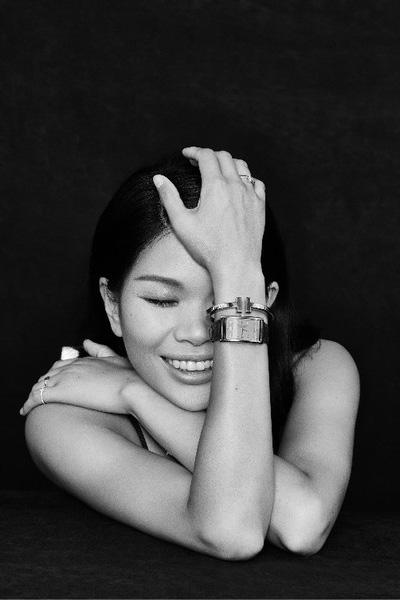 蒂芙尼精品腕表携手吕燕尽展独特魅力蜕变传奇风格