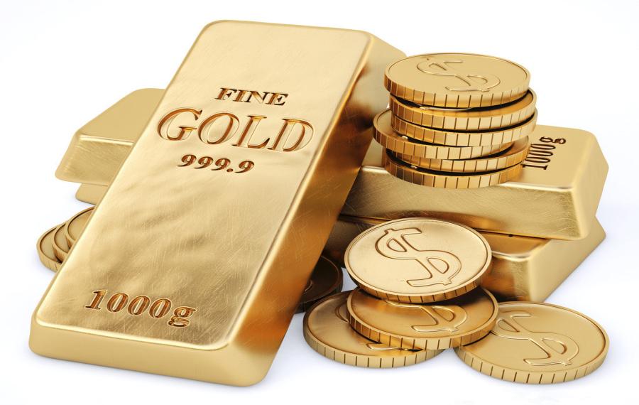 11月14日周一晚盘黄金价格走势
