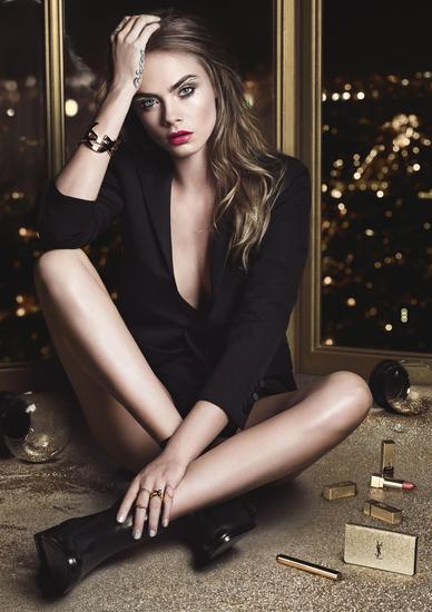 圣罗兰推出全新2016圣诞限量系列彩妆