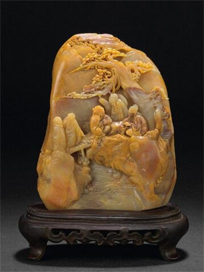寿山石雕_寿山石雕收藏_寿山石雕的特点_寿山石雕的鉴别_寿山石雕的传承意义