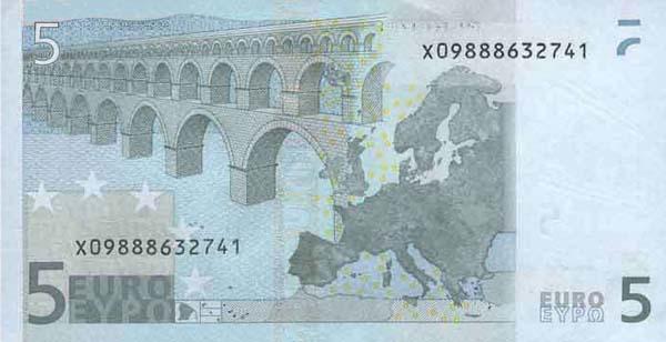 欧元纸币大全赏析