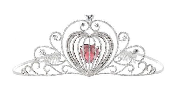 """施华洛世奇新娘宝石王冠 圆你一场华丽的""""公主梦"""""""