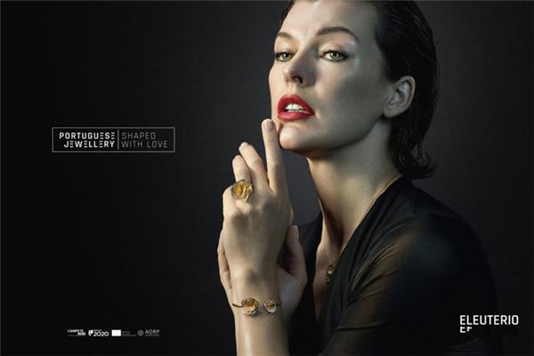Milla Jovovich演绎葡萄牙珠宝广告大片