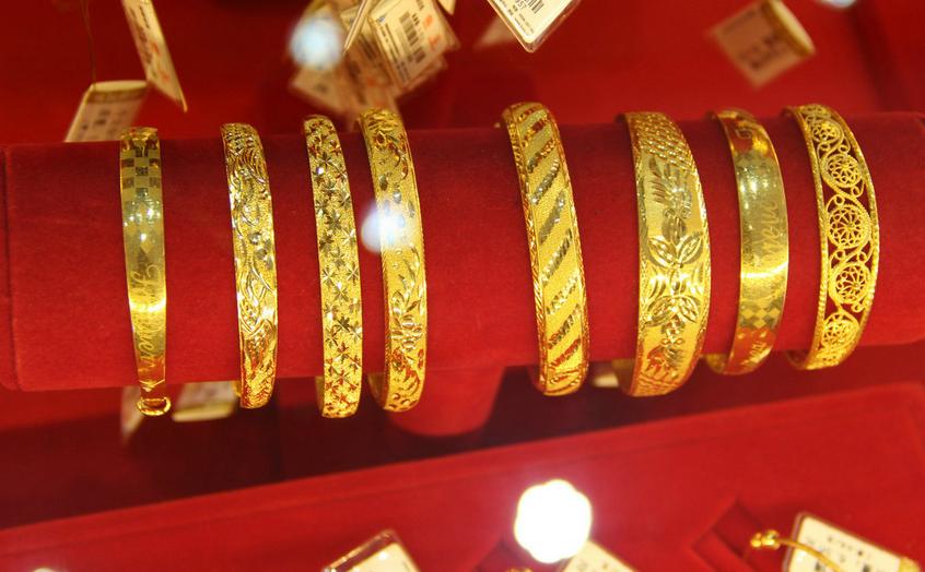 今日黄金交易开始慢涨之势
