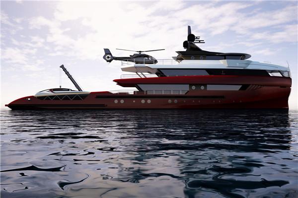 哥伦布船厂推出全新52米现代探险游艇
