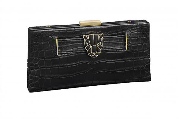 卡地亚推出Panthere de Cartier美洲豹系列晚宴包包