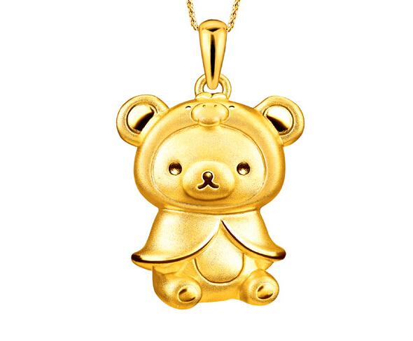 """六福珠宝""""轻松小熊""""系列再度来袭 萌化你的心!"""
