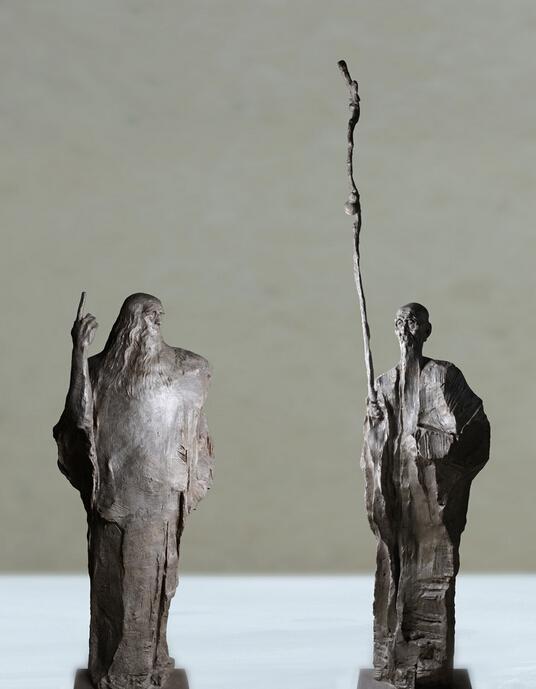 吴为山雕塑作品欣赏