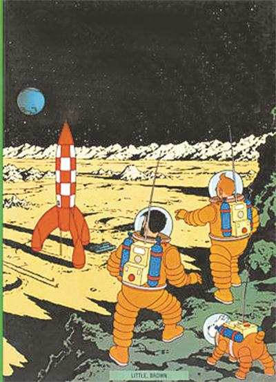 欧美漫画拍卖市场火热 《丁丁历险记》一页原画155万欧元成交