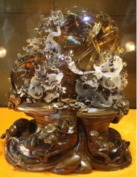 连云港多件水晶版权作品将亮相中国国际版权展览会