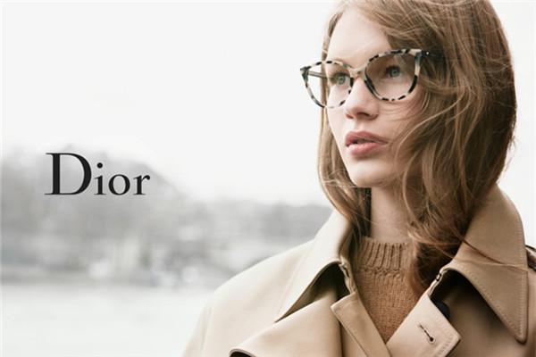 Dior释出全新2016秋冬奢侈品眼镜系列广告大片