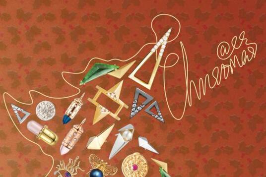 礼物季来到!星设汇Elitesigner珠宝设计师打造七彩圣诞节