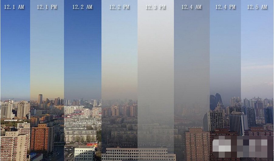 2016年12月1日至5日北京拉响重污染橙色预警全过程(组图)