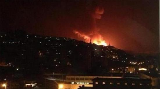 以色列发射导弹袭击叙利亚 没有造成伤亡