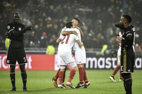 塞维利亚闯入欧冠淘汰赛 穆里尼奥的球队将少了一个夺冠劲敌