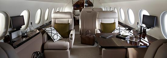 达索推出猎鹰900LX私人飞机 现代化升级配全新设施