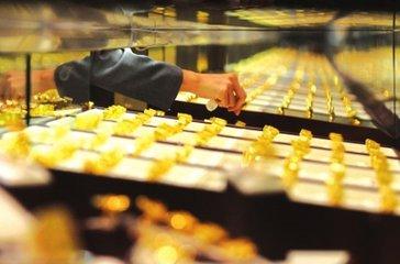 国际黄金价格走势图:美联储加息预期达百分百 金价低位盘整
